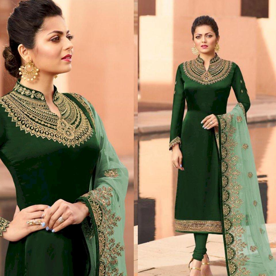 New Designer Party Wear Chudidar Salwar Suit Fashion Marketplace India Fashion Re Seller Hub