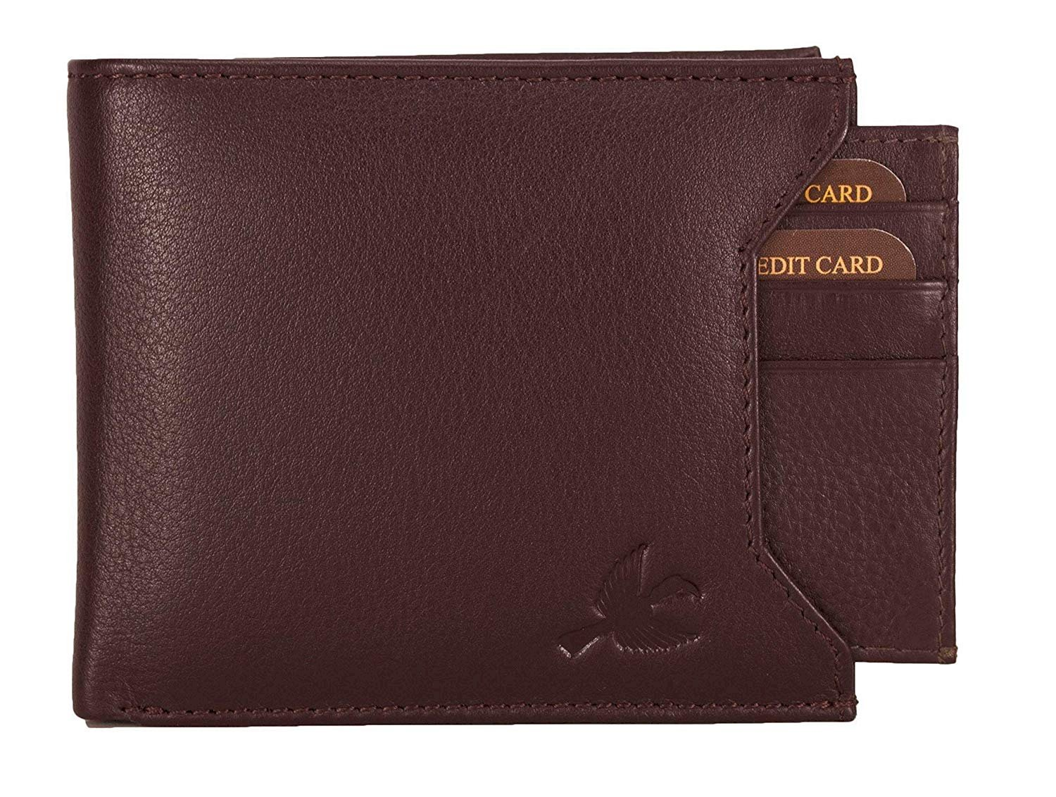 HORNBULL Brown Rigohill Leather Men's Wallet - Fashion Marketplace India | Fashion Re-seller Hub