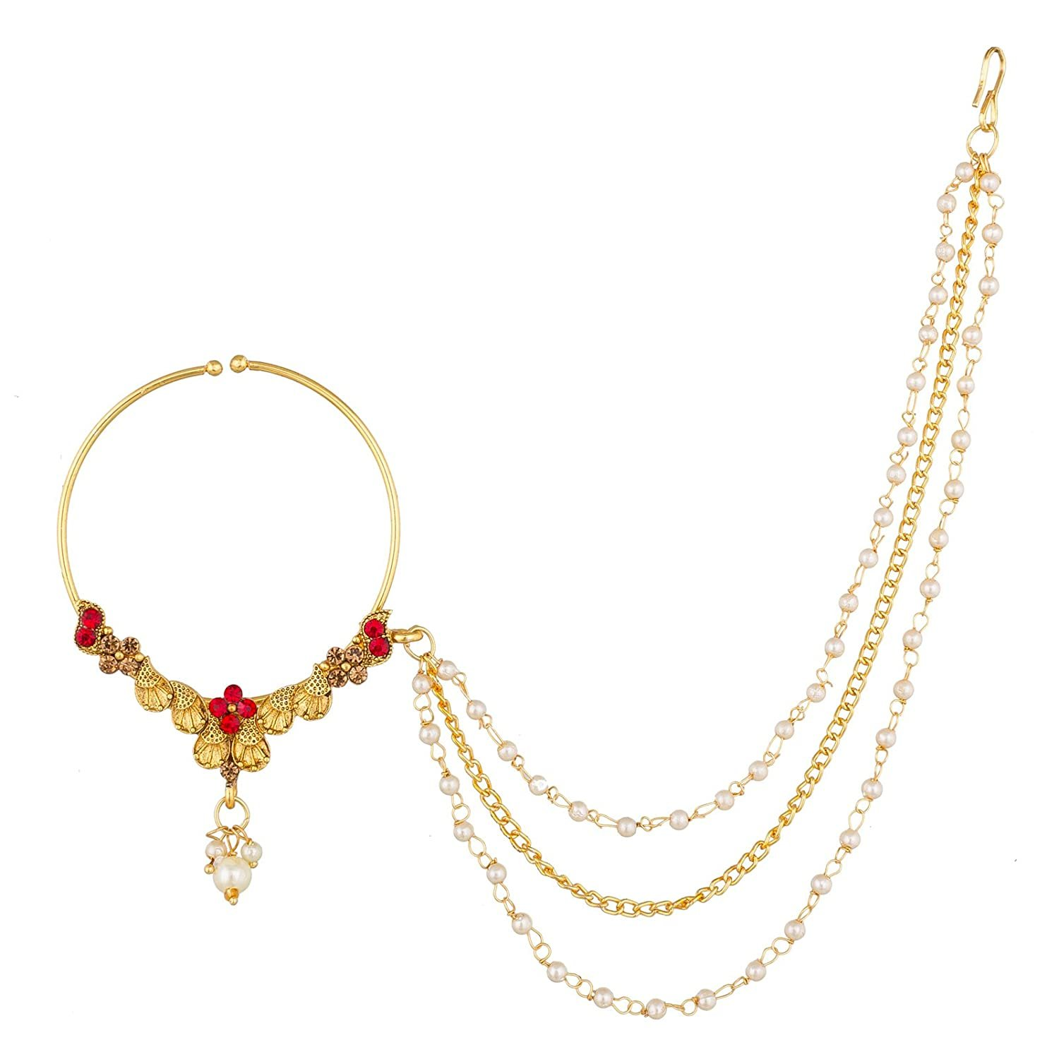The Luxor Fashion Jewellery Traditional Gold Plated Bridal